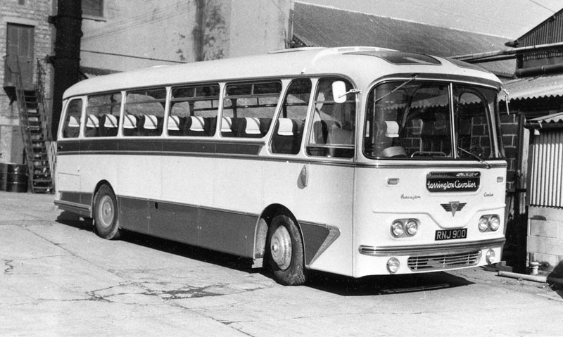 1960 AEC Reliance Harrington Cavalier rnj900