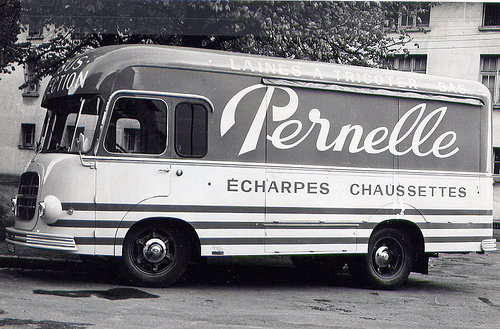 1960 Berliet GLR 8 modification Heuliez