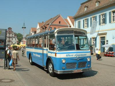 1960 Berna Hess L4 bus