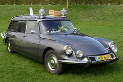 1960 Citroën DS hearse