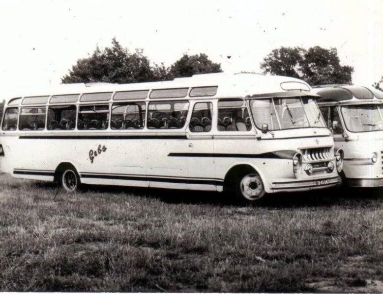 1960 DAF Groenewold GEBO 36