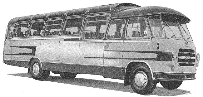 1960 Guy Warrior coach vehicle21