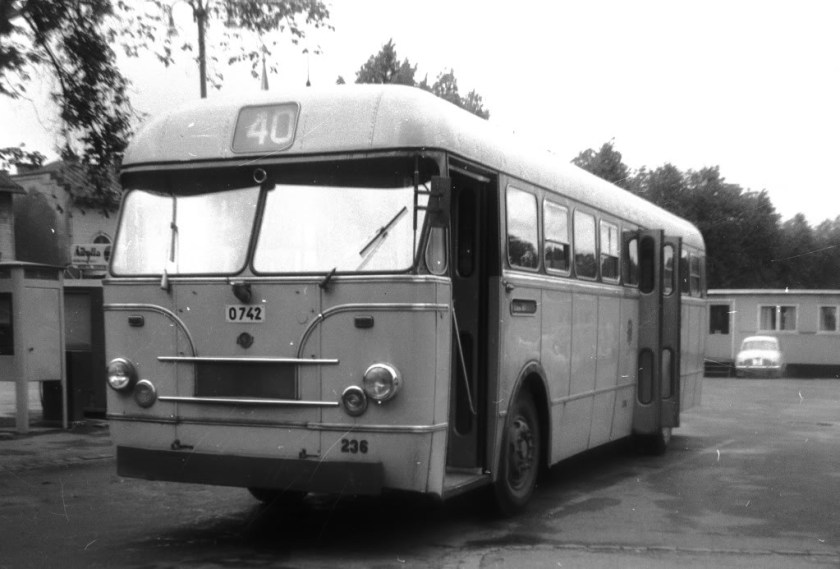 1960 Hägglund & Söner Volvo B658 AD6r