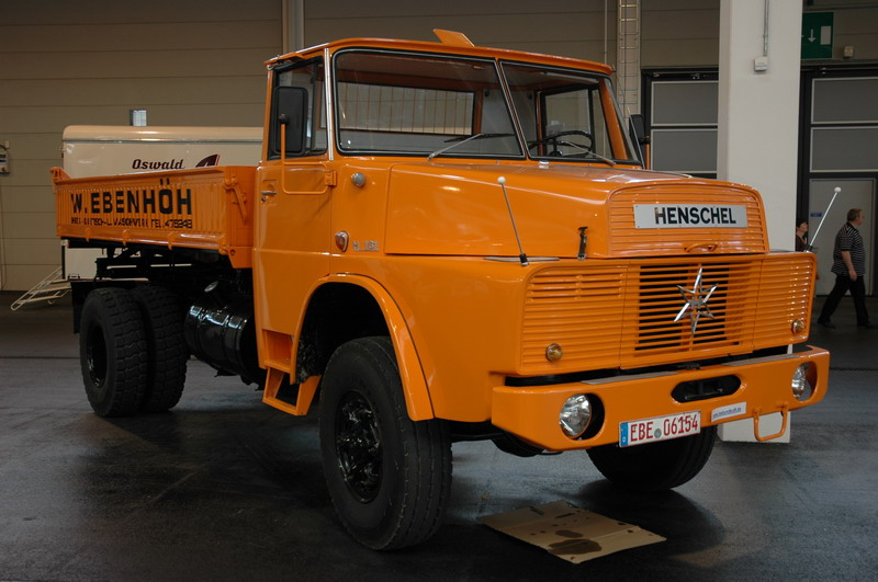 1960 Henschel H161 4x4.