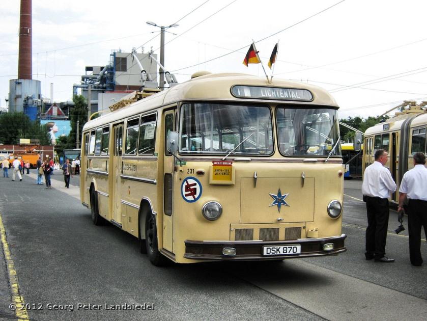 1960 Henschel HS 160 OSL - Baden-Baden 231 - Solingen