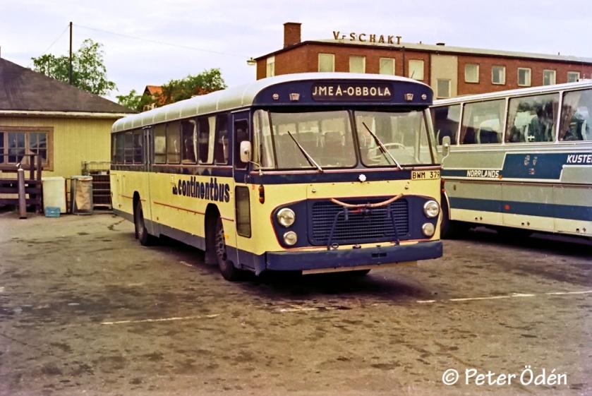 1960 Volvo B 57 Hägglund i Umeå A60693
