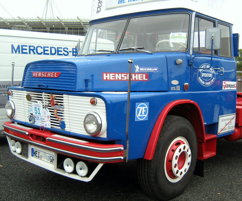 1961-67 Henschel HS 16 Hauber