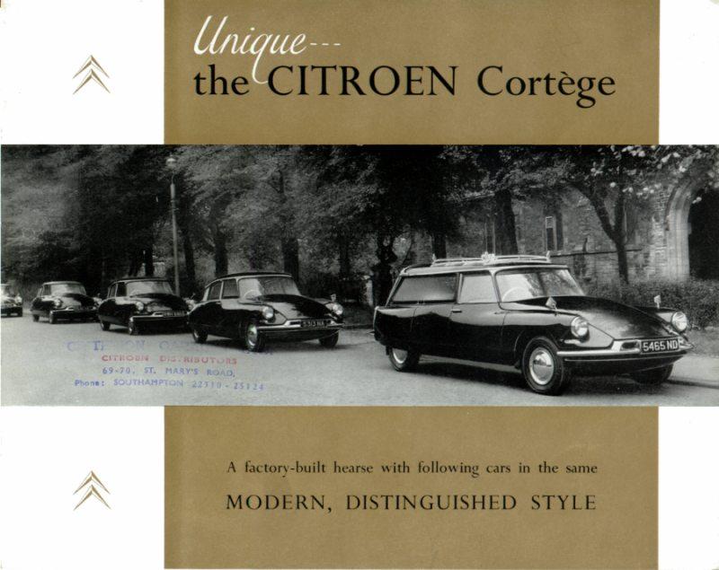 1961 Citroën DS funeral1