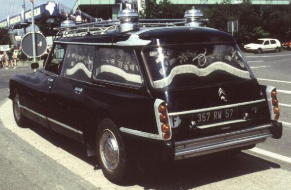 1961 Citroen ID 19 F Break funeralcar corbillard