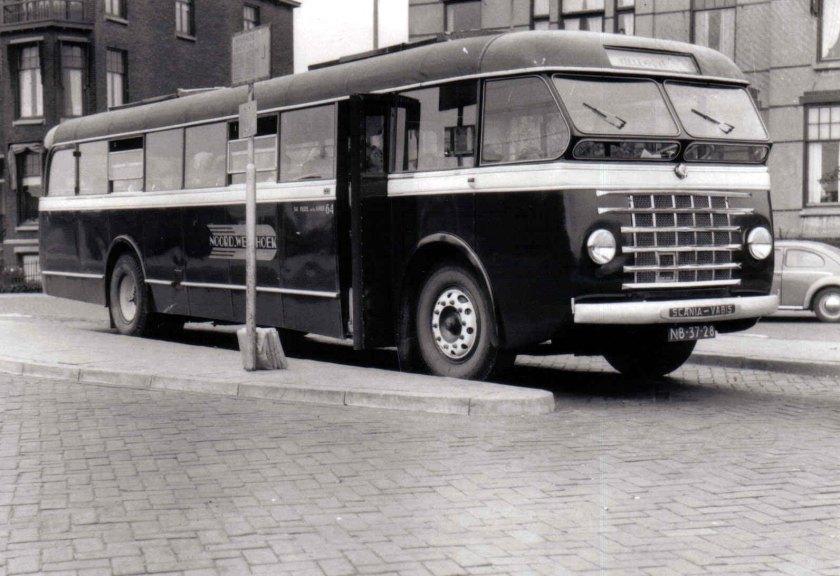 1961 Hägglund & Söner Scania Vabis NB-37-28 NWH 64