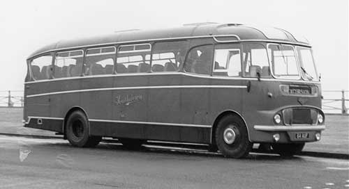 1962 body number 2673, Commer Avenger IV 94A0520 registered  in 1962