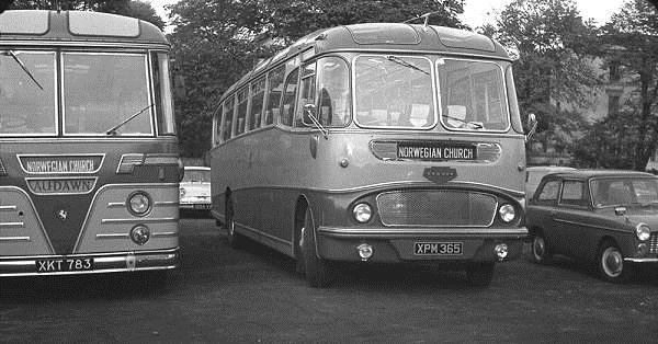 1962 Harrington Crusader I C41F bodied Commer Avenger IV