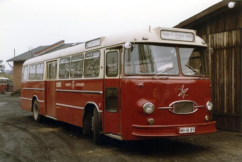 1962 Henschel Bus