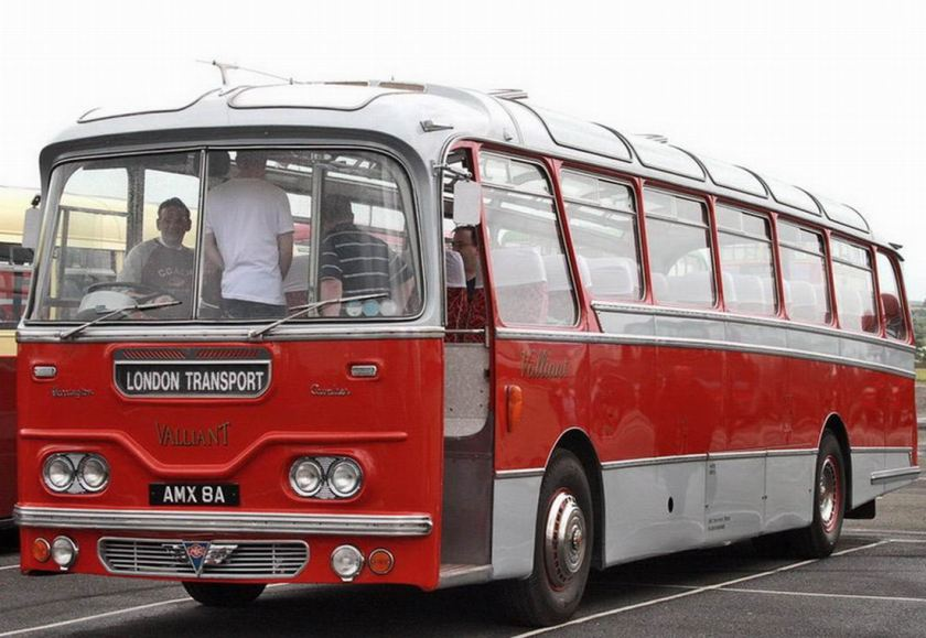 1963 AEC Harrington Cavalier Vailliant bus