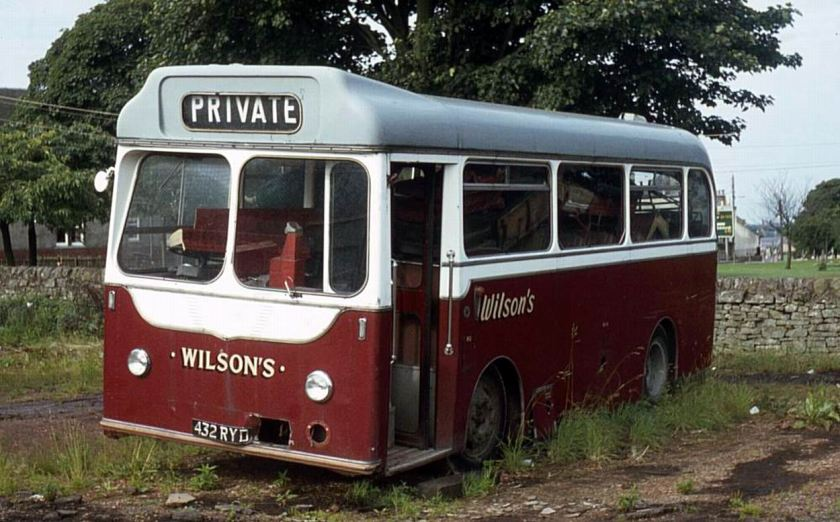 1963 Albion Nimbus NS3AN with Harrington bodywork