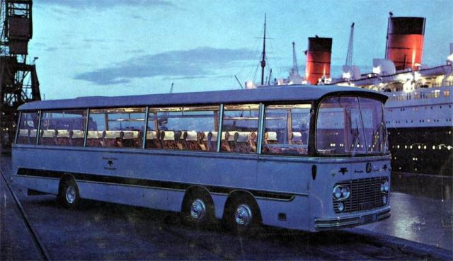 1963 Bedford Val 14 Harrington Legionair C52F
