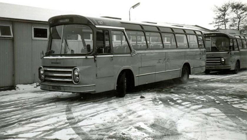 1964 ESA 127 DAF Groenewold. Verbouwd voor lijndiensten