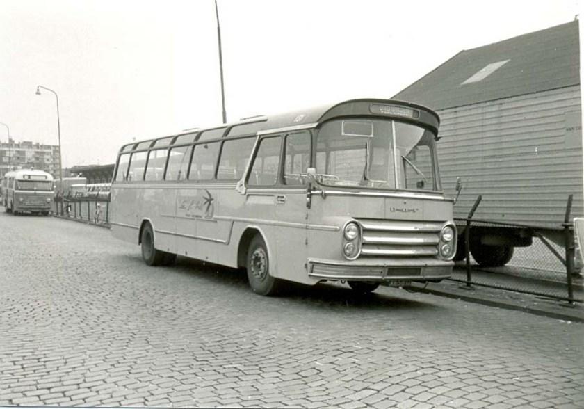 1964 ESA 131 DAF Groenewold Verbouwd voor lijndiensten