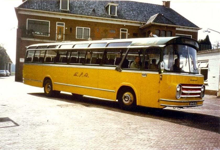 1964 ESA 133-2 DAF Groenewold met excursie Noord Bus Museum.