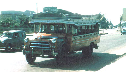1964 GMC Thai Bus Bangkok 106-1 GMC
