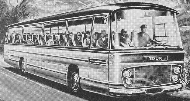 1964 Guy Conquest Luxery Coach