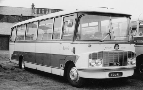 1965 Bedford Harrington Crusader IV cru4