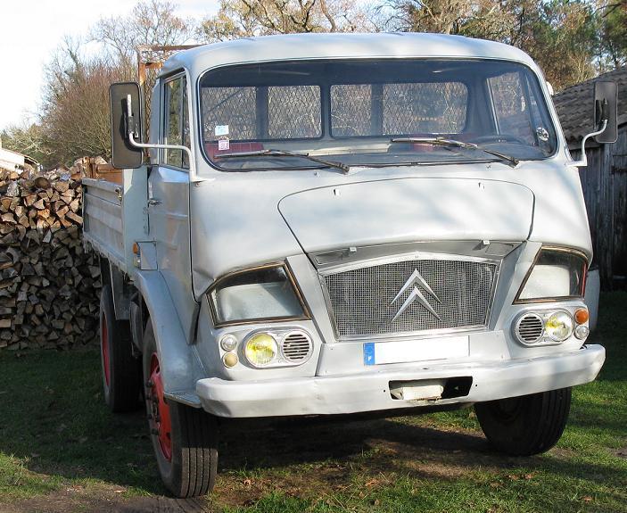 1966 Camion Citroën type Belphégor 600
