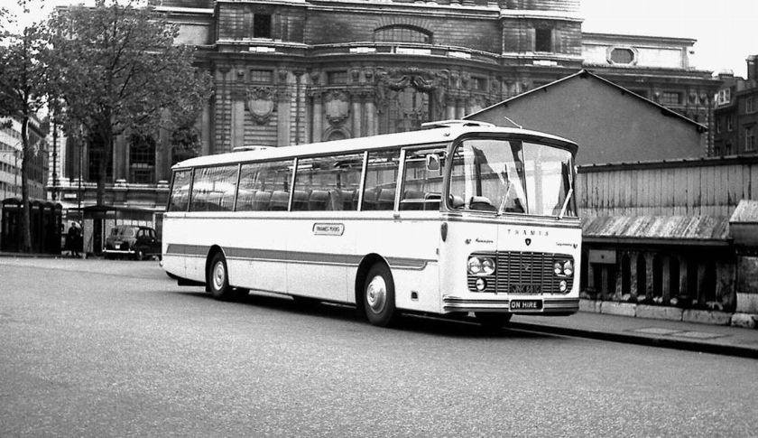 1966 Ford 676E Thames +Harrington Legionnaire II C52F body, JNK681C