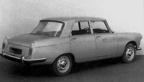 1966 Heuliez Peugeot V6 studie 404