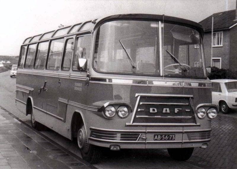1967 DAF carr. Groenewold Doornbos nr.4
