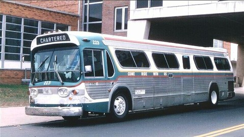 1967 GM SDM-5302 White Bus 223