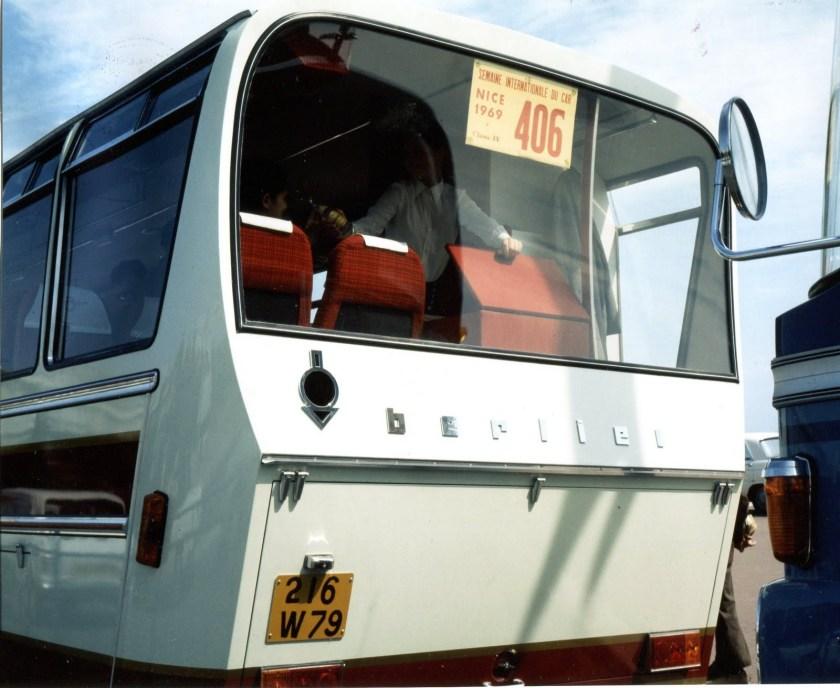 1967 Heuliez GT Berliet PH4 arriëre