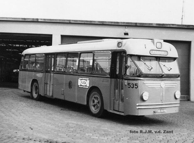 1967 Holland Saurer 4HK-HO Hainje 37 zitpl.47 stpl.
