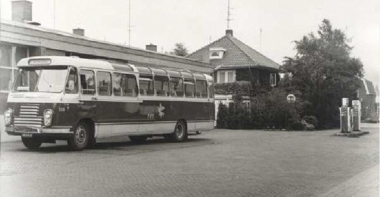 1968 Daf - Hainje UB-39-33, door overname van de WATO, bij de T.E.T. in gebruik genomen. Opname 1975 voor depot-garage Nijverdal