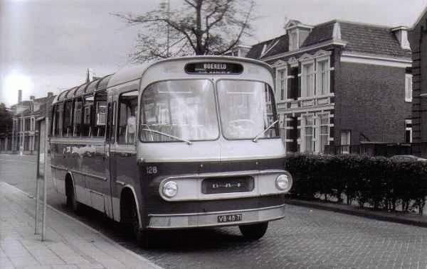 1969. Bus 128 ex WATO 28 Daf B1300 carr. Hainje
