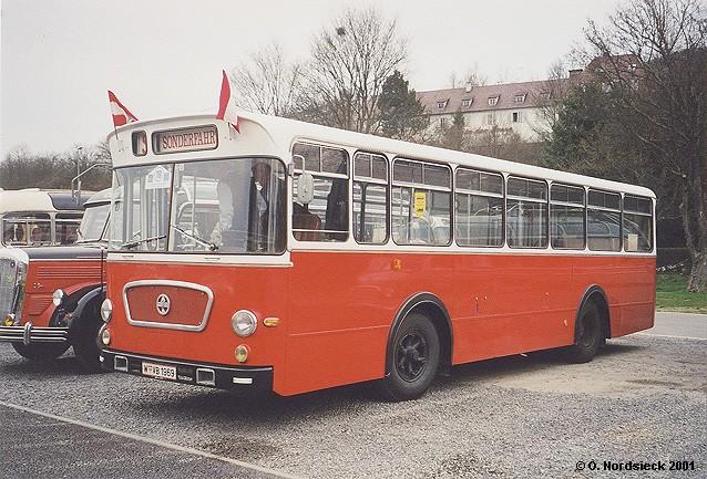 1969 Gräf & Stift OSU 155-46 Linienbus ex Stadtwerke Wien 1969