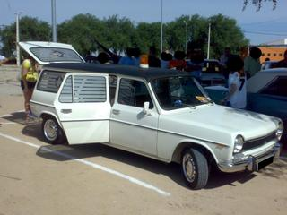 1969 Simca 1400 ambu
