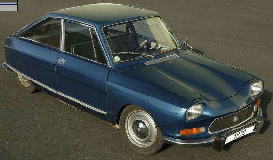 1970-citroen-m35 Das persönliche Automobil von Firmengründer Henri Heuliez, Châssis N