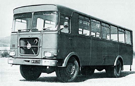 1970 Graf und Stift OLA-210 54, 4x4