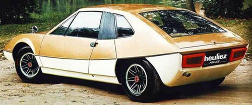 1970 Heuliez Porsche 914 Murene