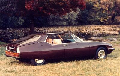 1971 Citroën SM Espace by Heuliez