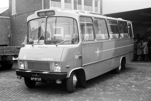 1971 Hanomag City 154 1113 Eindhoven werkplaats foto Wim Vink