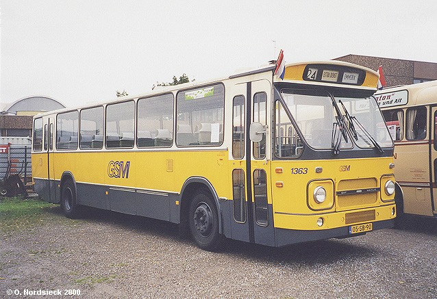 1972 DAF Hainje MB 200 DO