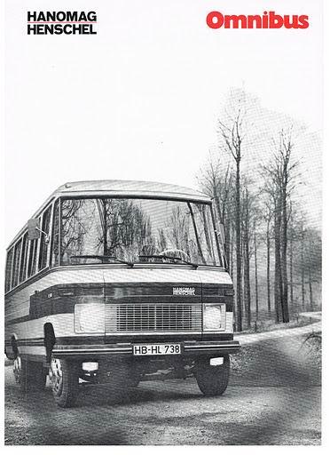 1972 HANOMAG-HENSCHEL F40B-F45B Omnibus