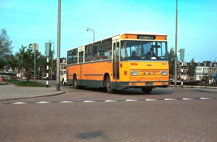 1972 Typisch Hainje-model, gebouwd voor streekvervoer en Koninklijke Landmacht. FRAM 630