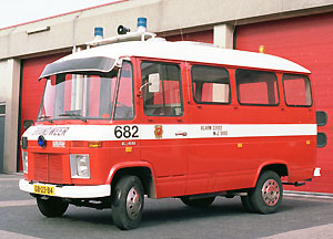 1973 Hanomag-Henschel F40 Brandweer