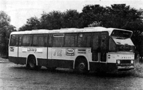 1973 Volvo B58-50-Hainje nr.28 met ondervloermotor met 32 zitplaatsen