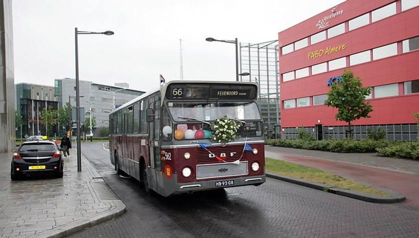 1974 DAF Hainje SB200DKDL554 De RET 562 in Almere