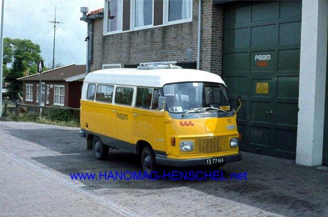 1976 Hanomgag henschel F35 Fram taxi 10 Vlieland