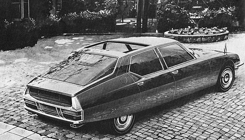 1977 Citroën SM by Heuliez